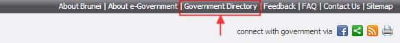 e-darussalam - Government Directory