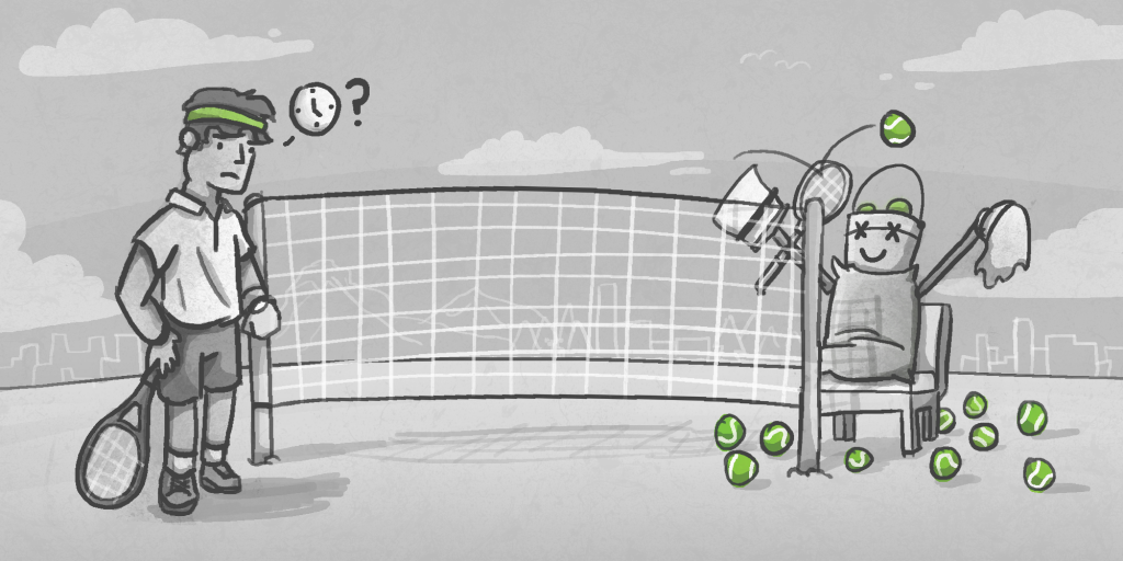Illustration for Lateness Culture - Sports - Commissioned from Ibrahim