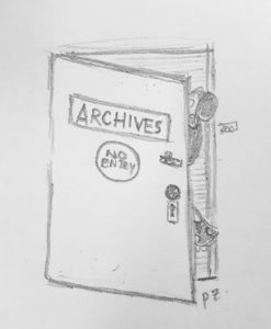 Into the archives she goes - Thanks!